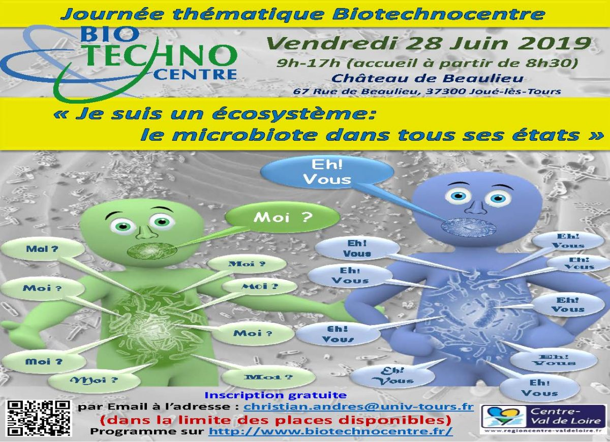 5th theme day Biotechnocentre – June 28, 2019 – Joué-lès-Tours