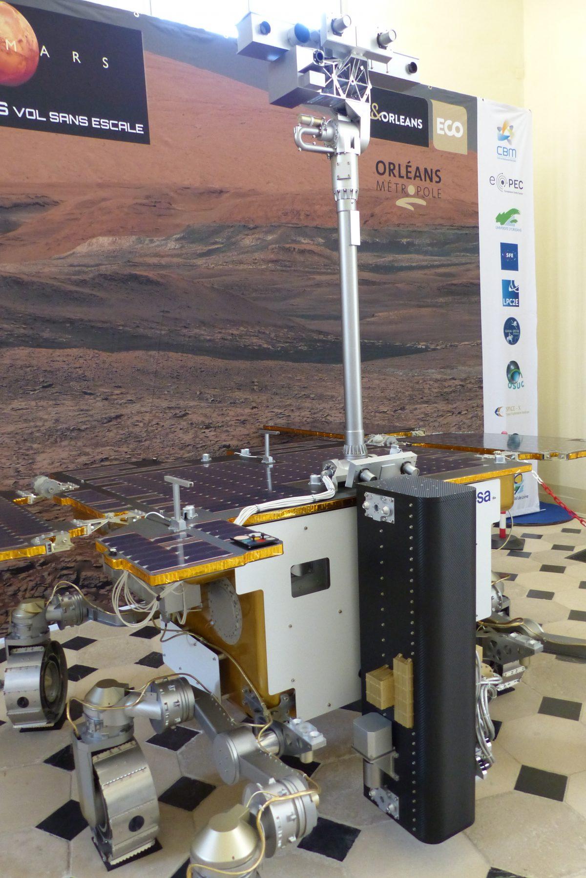 Le CBM et l'exploration de Mars