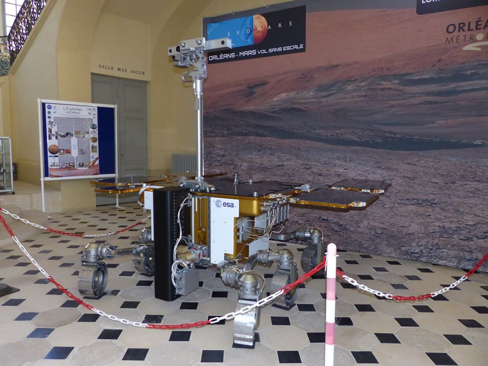 Conference – Exomars Mission: Life on the Red Planet – September 5th, 2019, Orléans